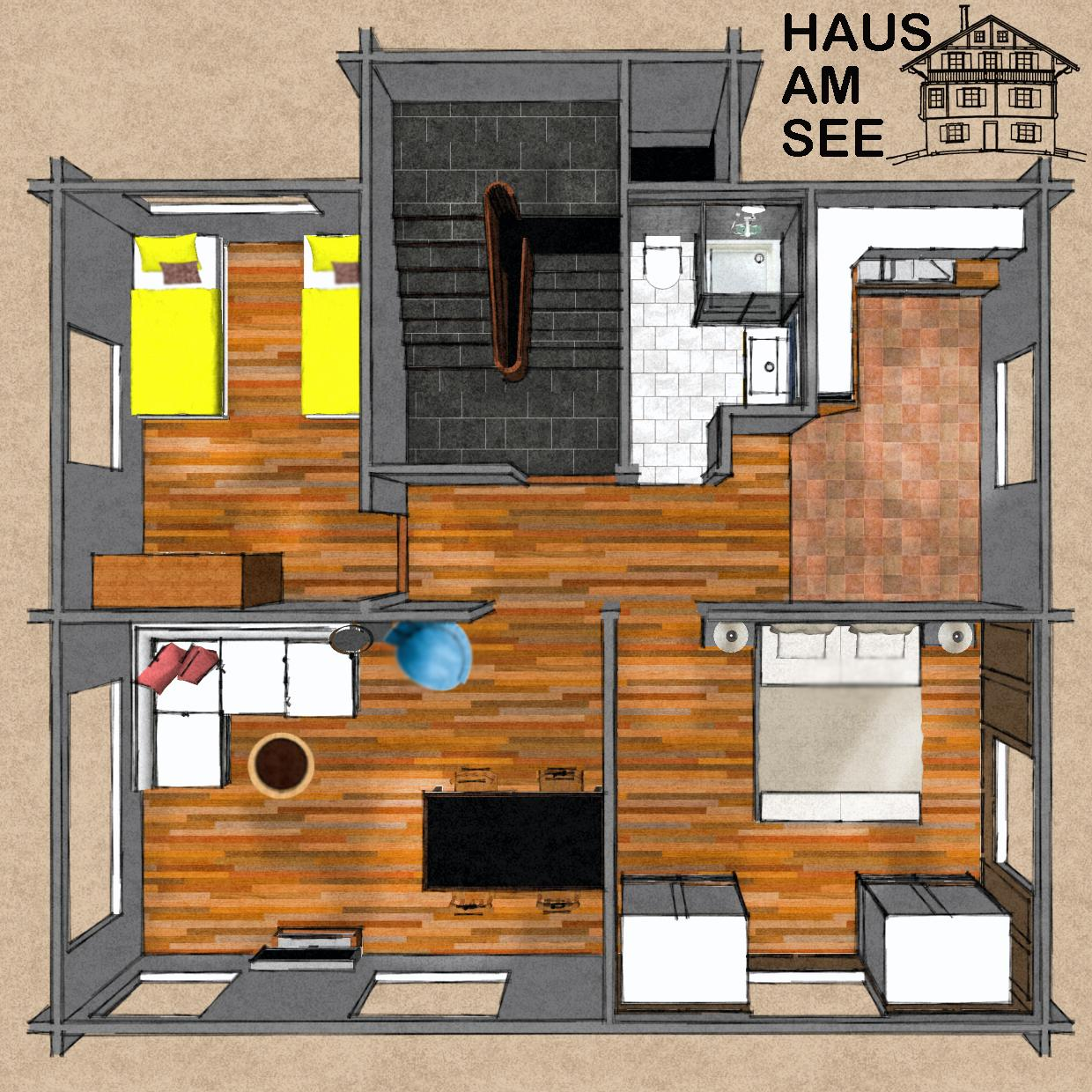 Grundriss / floor plan